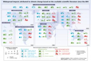 IPPC global warming impact chart